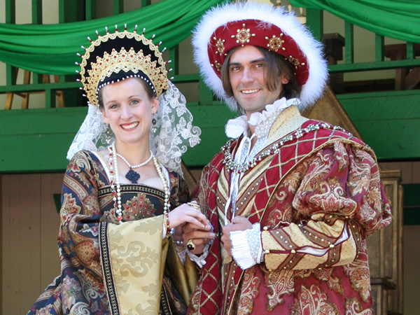 The King and Queen request your presence at the Pennsylvania Renaissance Faire. (Photo courtesy of the Pennsylvania Renaissance Faire)