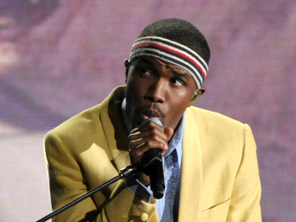 Frank Ocean performing at the 55th annual Grammy Awards in Los Angeles. The New Orleans Jazz and Heritage festival begins Friday, April 25. This year´s headliners are big, including Billy Joel, Fleetwood Mac, Hall and Oates, The Black Keys, Maroon 5, Jill Scott, Kem, Frank Ocean and the Dave Matthews Band.  (Photo by John Shearer/Invision/AP, file)
