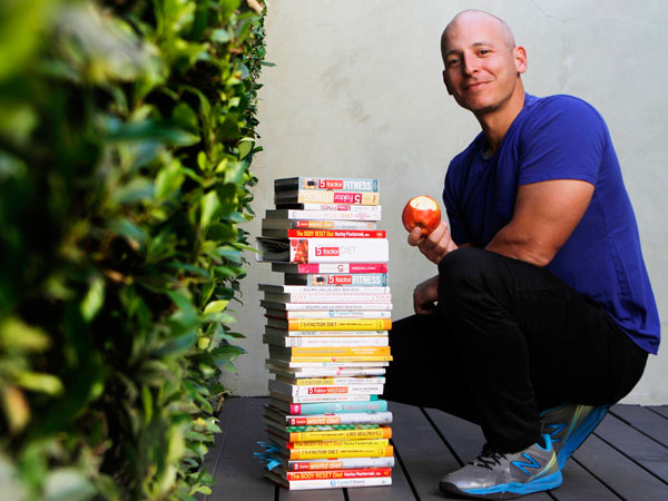 Harley Pasternak is a renowned fitness and nutrition expert and best-selling author and is responsible for getting many of Hollywood´s most recognized celebrities into the best shape of their lives, from Lady Gaga to Halle Berry, Robert Pattinson to Robert Downey Jr. ( Francine Orr/ Los Angeles Times/MCT)
