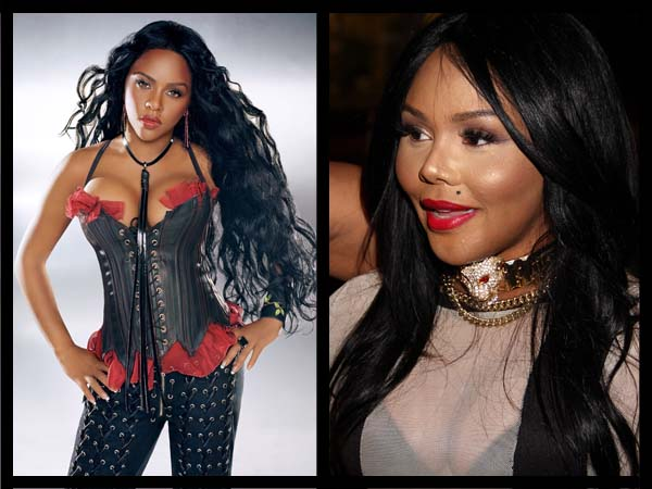 Lil Kim then. Lil Kim now.
