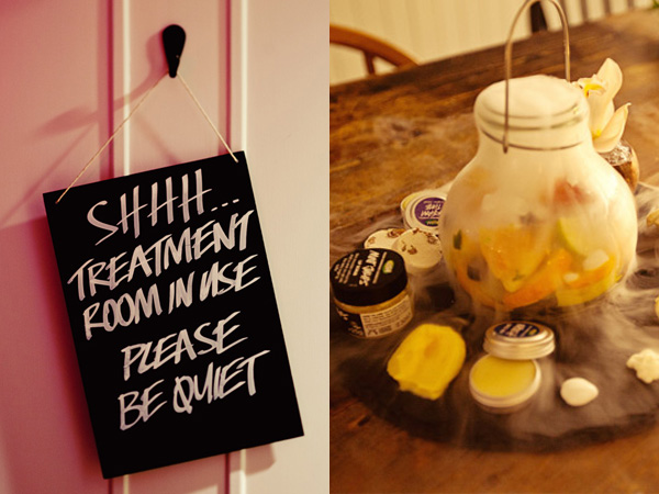 LUSH Cosmetics will open one of their first spas in North American at their Walnut Street location in Philadelphia. (Photo via LUSH blog)