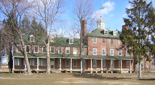 The old Lazaretto quarantine station in Tinicum Township was a bulwark against imported infectious diseases from 1801 to 1895. (Photo by Doug Heller)