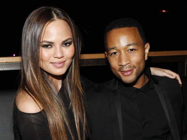 Chrissy Teigen and John Legend attend Lexus Design Disrupted on Thursday, Sept. 5, 2013 at SIR Stage37 in New York. The event kicks off New York Fashion Week and supports the launch of the all new 2014 Lexus IS. (Photo by Amy Sussman/Invision for Lexus/AP Images)