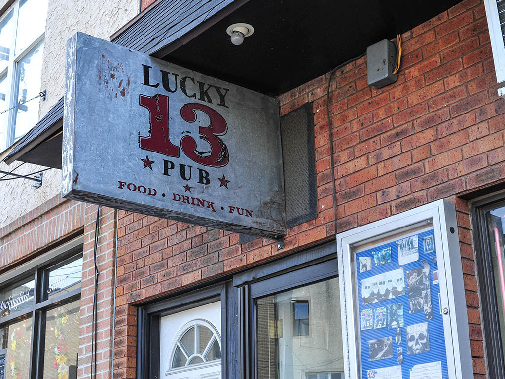 Lucky 13 Pub located at 1820 S. 13th St., in Philadelphia, Pa. ( Jessie Fox / Philly.com )