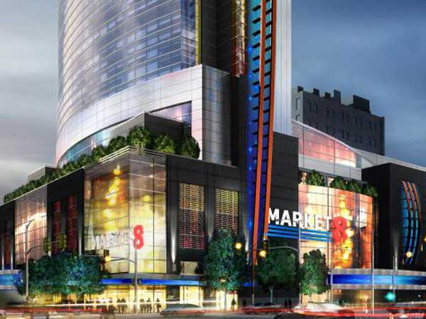 Rendering of proposed Market8 Casino