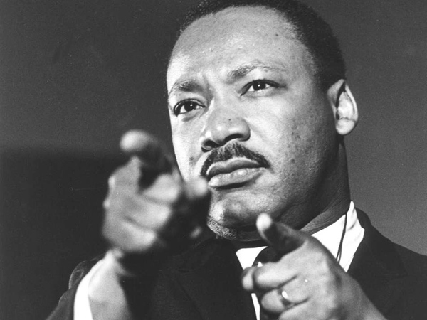 The Rev. Martin Luther King Jr., is seen in this undated file photo. Martin Luther King Jr. was  assassinated on April 4, 1968 in Memphis.  (AP Photo/file)