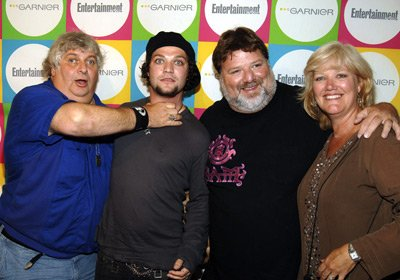 "Vincent ""Don Vito"" Margera, Bam Margera, Phil Margera, April Margera"