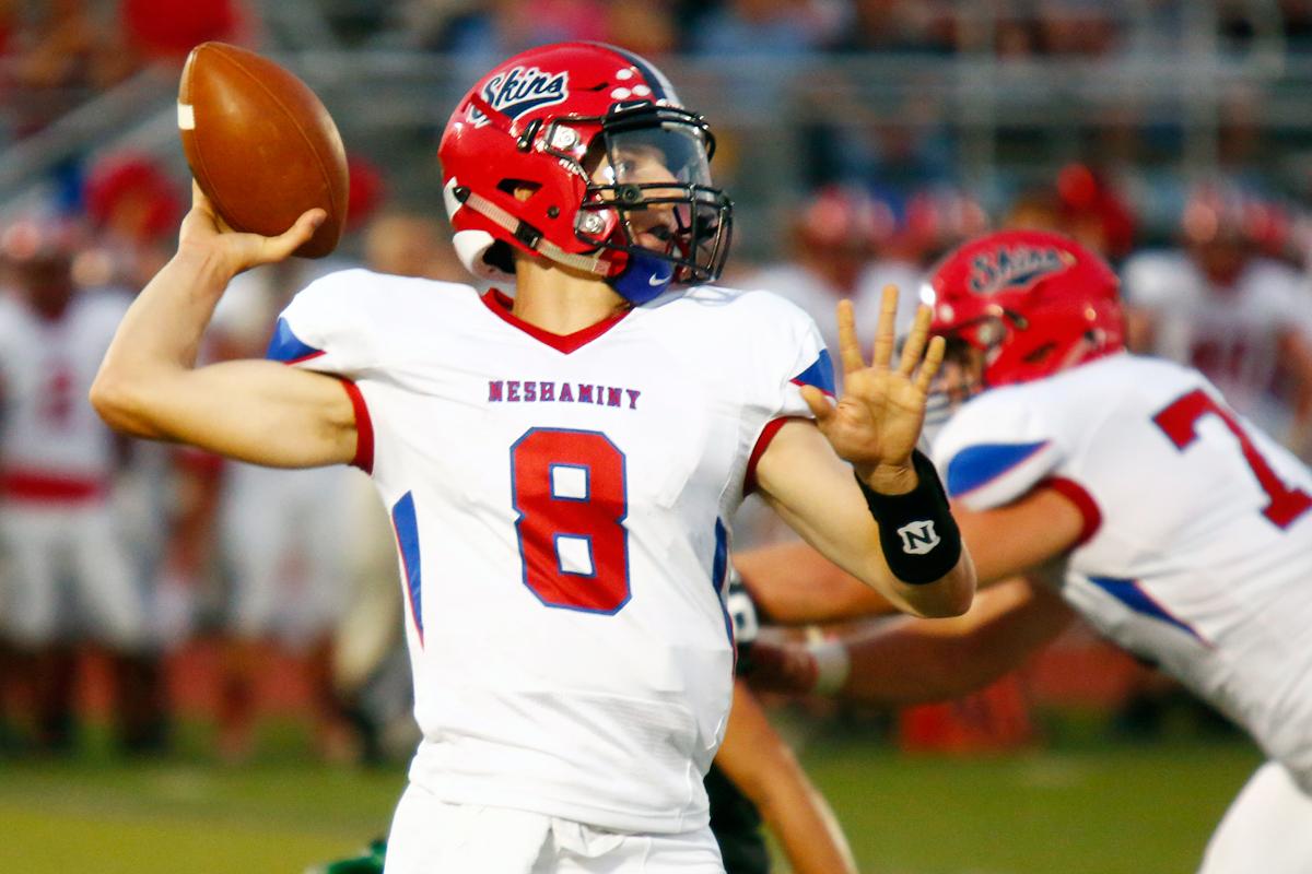 Neshaminy quarterback Mason Jones. LOU RABITO / Staff