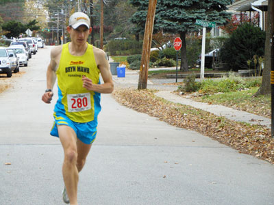 For Michael McKeeman, running's always been about competition. Tomorrow, he´ll go for the win in his hometown marathon.