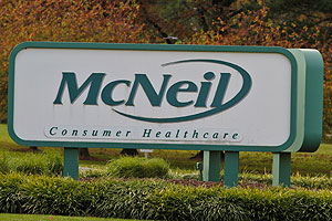 McNeil Consumer Healthcare&acute;s manufacturing plant in Fort Washington, Montgomery County, which has been closed while manufacturing problems are addressed. (Michael S. Wirtz / Staff Photographer )  