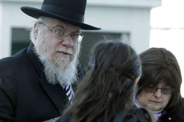 Rabbi Mendel Epstein appeared Tuesday.