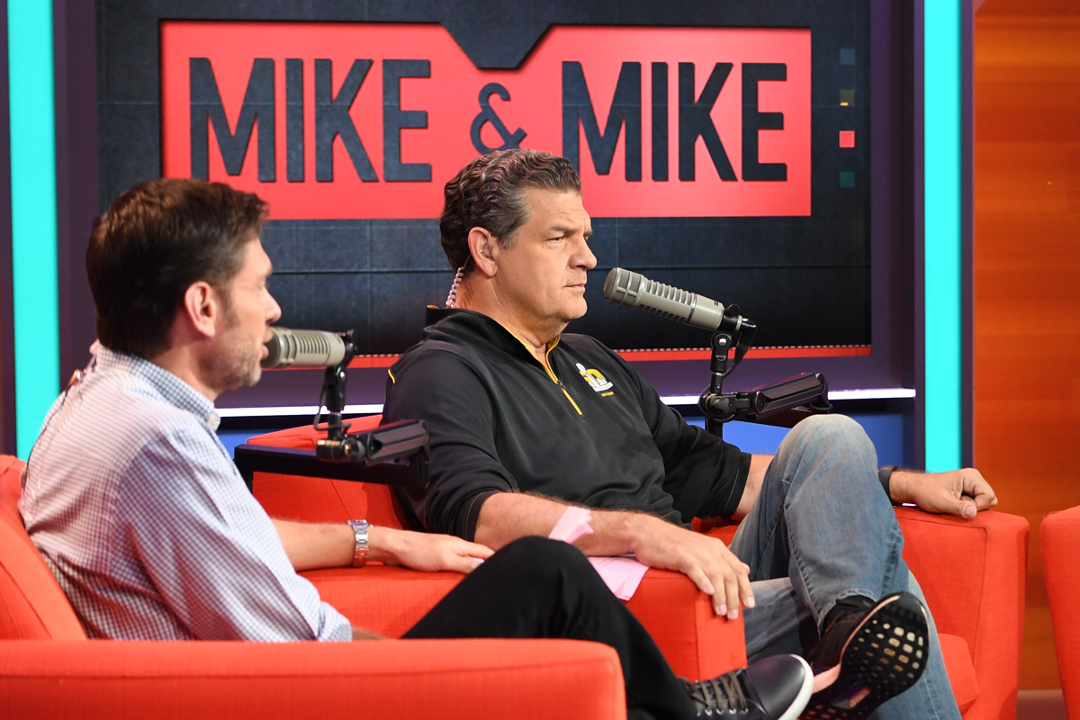 """Mike Greenberg and Mike Golic have had an icy relationship off the air since reports began to circulate about the end of """"Mike & Mike."""""""