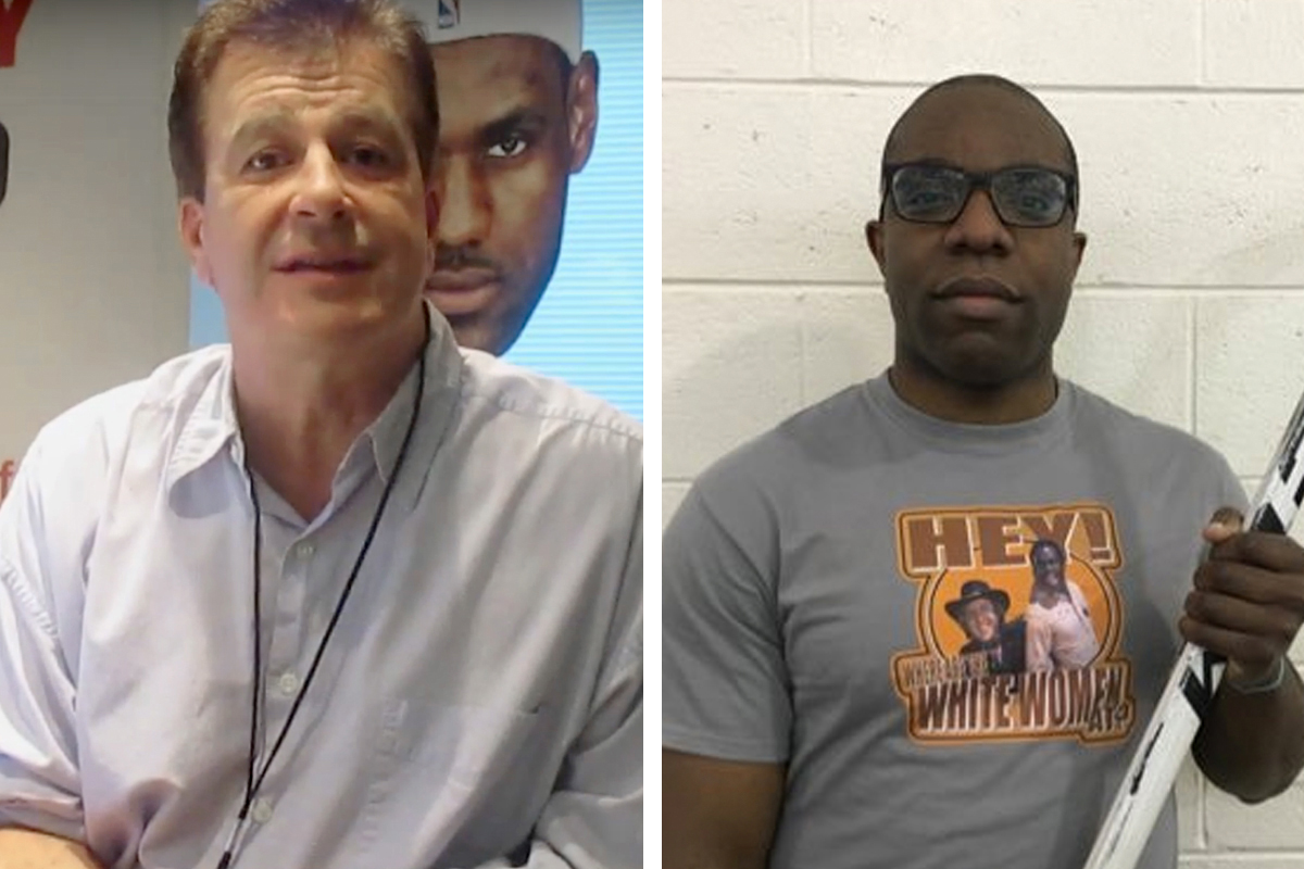 Mike Missanelli (left) claims he didn&acute;t know that &quot;Dwayne From Swedesboro&quot; was a fake caller created by Pat Egan, using a photo of a friend he identified as &quot;CK.&quot; <br />
