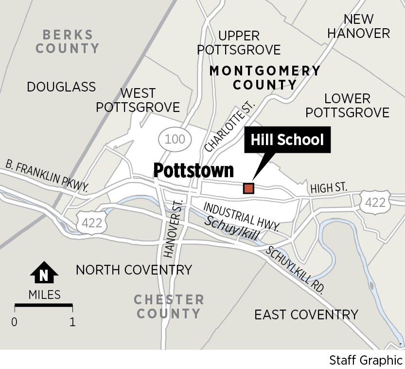 Montco Campus Map.Exclusive Hill School Fights Perception And Pottstown S Economic
