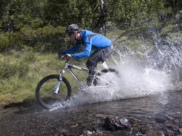 Ride on trails less traveled during a beginner´s ride at Core Creek Park. (Photo via iStock)