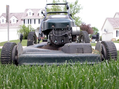 253,000 individuals were treated for lawn mower-related injuries in 2010, and an estimated 17,000 of them were under 19. (David Bradley/AP)