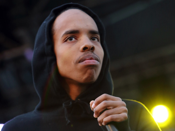 This May 26, 2013 file photo shows Earl Sweatshirt performing at The Sasquatch! Music Festival in George, Wash.(Photo by John Davisson/Invision/AP, File)