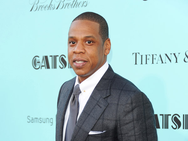"Jay-Z attends ""The Great Gatsby"" world premiere at Avery Fisher Hall in New York. (Photo by Evan Agostini/Invision/AP, File)"