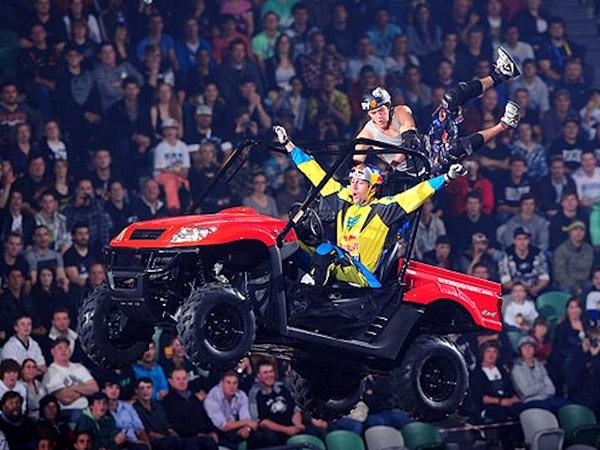 The Nitro Circus crew perform a daredevil stunt. (Photo via nitrocircus.com)
