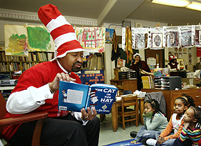 Nutter in a funny hat. (Philadelphia Inquirer)