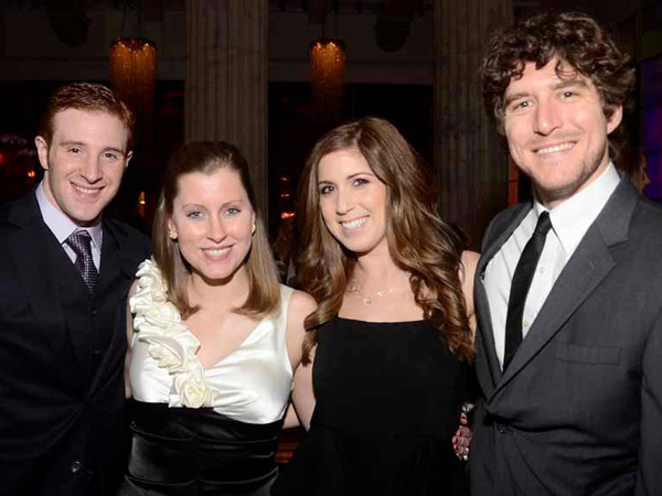 Double date night with Kara and Jeff Cochran with Rachel Cane and Ryan Wolf at the 2nd Annual Philadelphia Red Carpet Party at the Ritz-Carlton, Philadelphia, Pa. (HughE Dillon/Philly.com)
