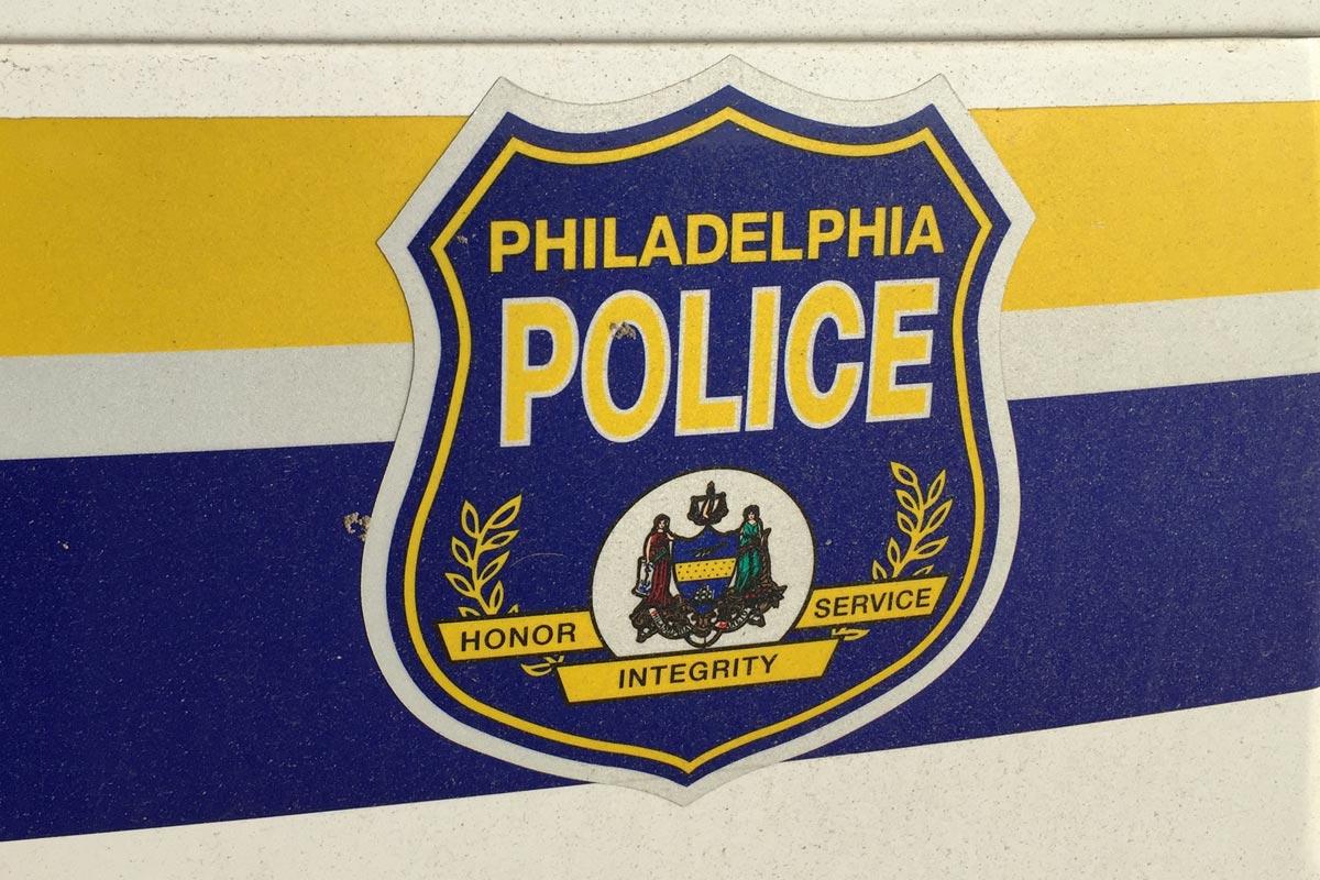 Philadelphia Police car logo.