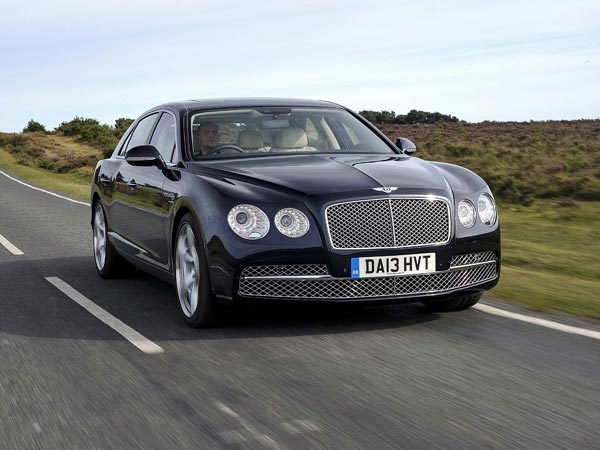 Bentley´s Flying Spur is now in its second generation and comes with either a twin-turbocharged V-8 or a twin-turbocharged W-12. (MCT)