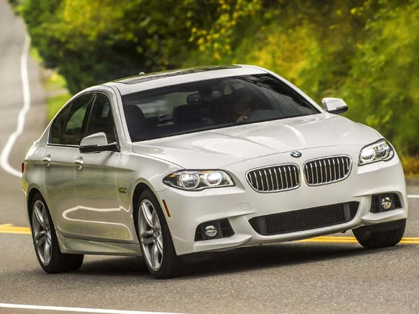 BMW gave the current generation of 5-Series cars a mild refresh for 2014, adding this BMW 535d diesel sedan into the mix for the first time. It combines efficiency with robust power in a compelling package. (Greg Jarem/BMW/MCT)
