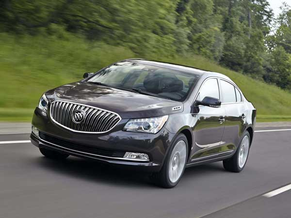 The 2014 Buick Lacrosse is based on the same architecture as the widely praised 2014 Chevrolet Impala. (Al Vanderkaay/Buick/MCT)