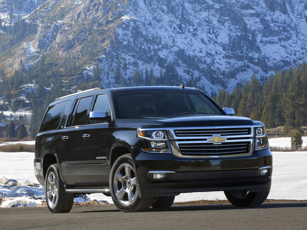 The 2015 Chevrolet Suburban is based on the same mechanical underpinnings as the Chevrolet Silverado pickup. (Chevrolet/MCT)