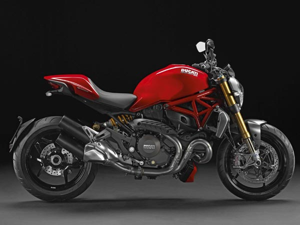 For 2014, the Ducati Monster is back and bigger than ever — with a more powerful 1,200cc engine. (Ducati/MCT)