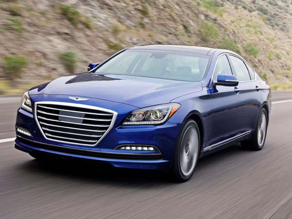Given that its impressive styling conveys such a substantial presence, the 2015 Hyundai Genesis is quite possibly the best vehicle that Hyundai currently offers. (Hyundai/MCT)