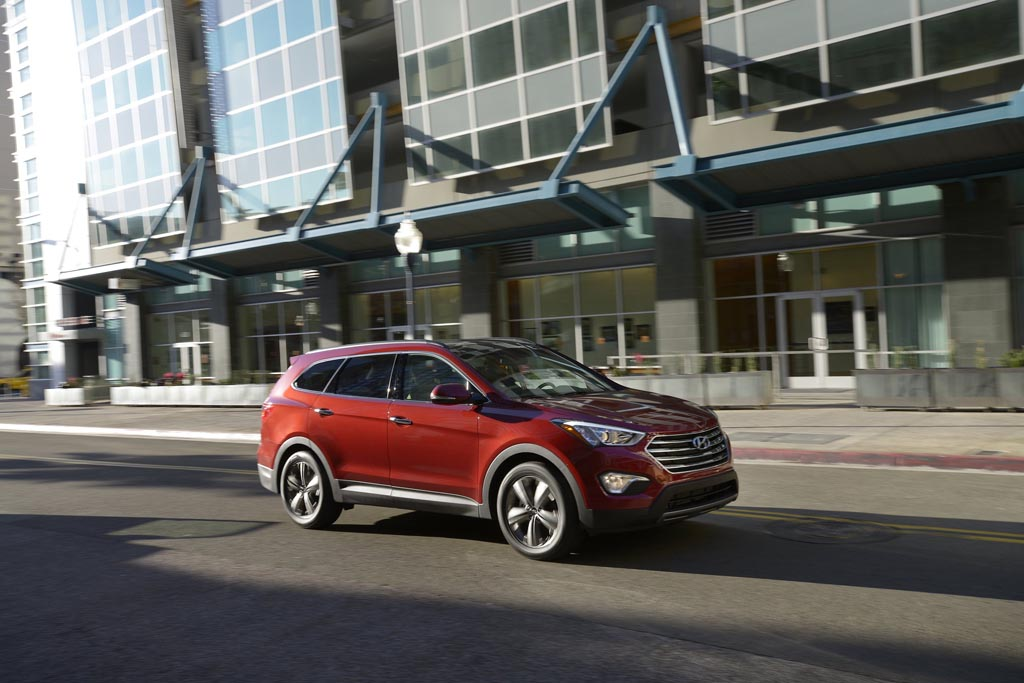The 2014 Hyundai Santa Fe is the brand´s replacement for its Veracruz SUV. (Morgan J Segal/Hyundai/MCT)