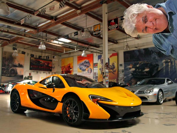Jay Leno has added a McLaren P1 to his collection of cars in Burbank, Calif. The exotic sports car is considered by many critics to be the best sports car ever made, with a cost of $1.2 million. (Myung J. Chun/Los Angeles Times/MCT)