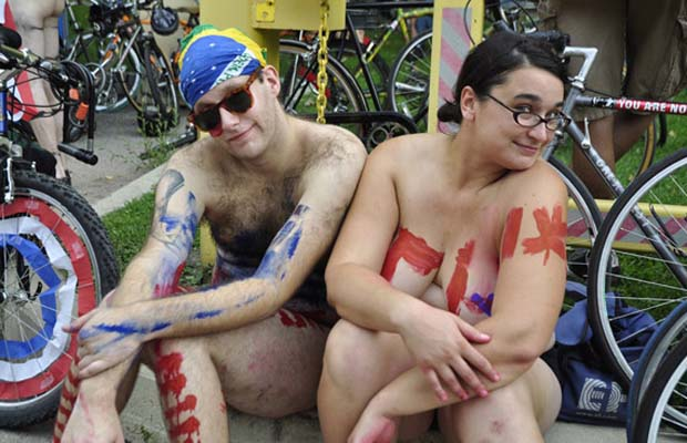 bike ride naked Philly