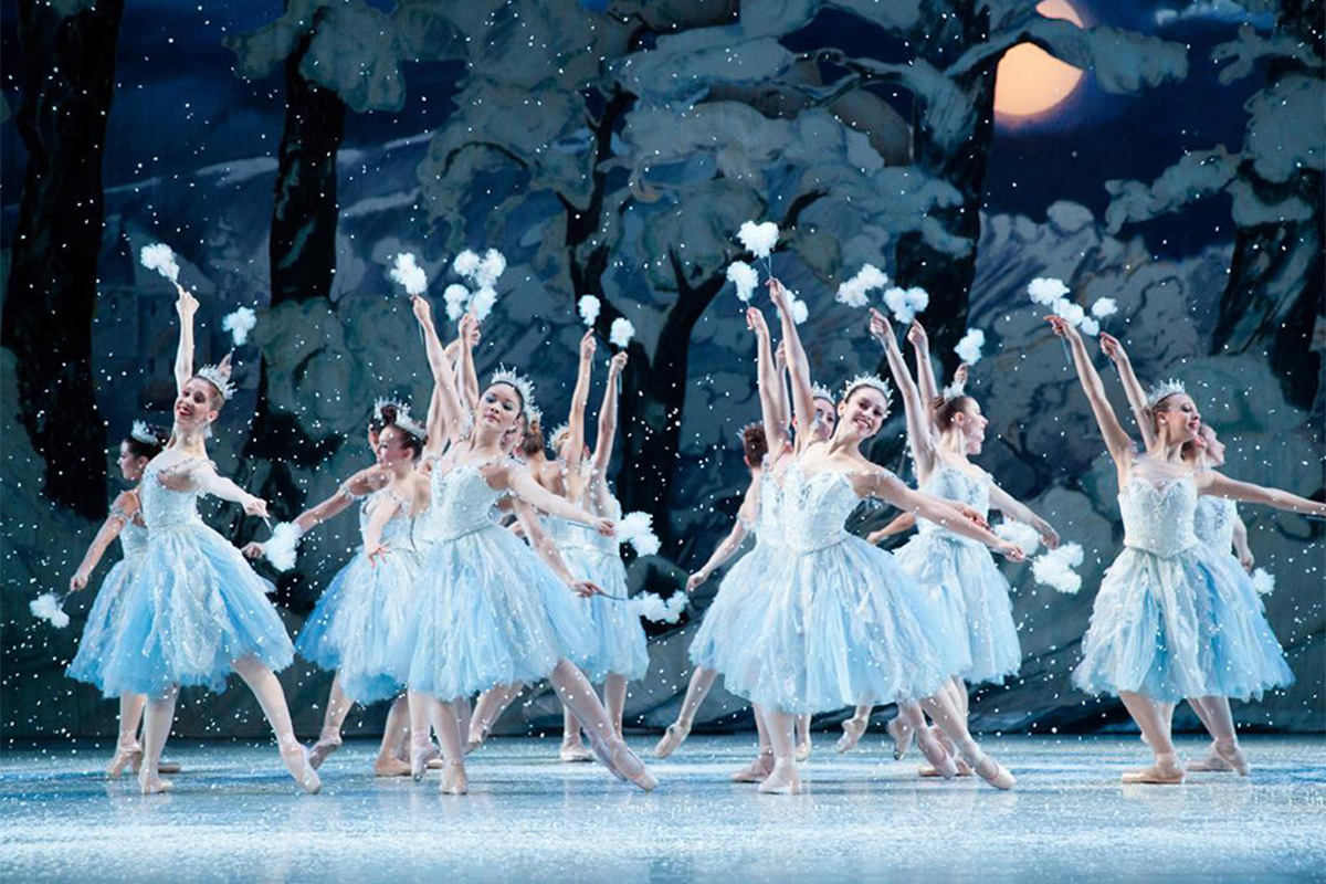 Pennsylvania Ballet performs The Nutcracker. (ALEXANDER IZILIAEV)