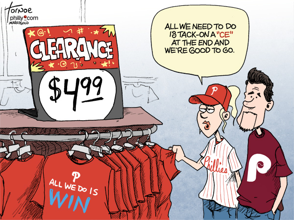 Rob Tornoe Phillies cartoon