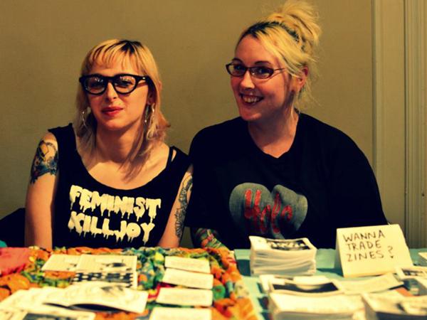A Philly Feminine Zine Fest event at William Way LGBT Community Center.