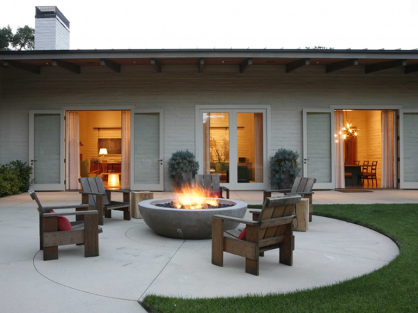 Building Your Own Patio spring patio fix-ups: install an outdoor fireplace or fire pit