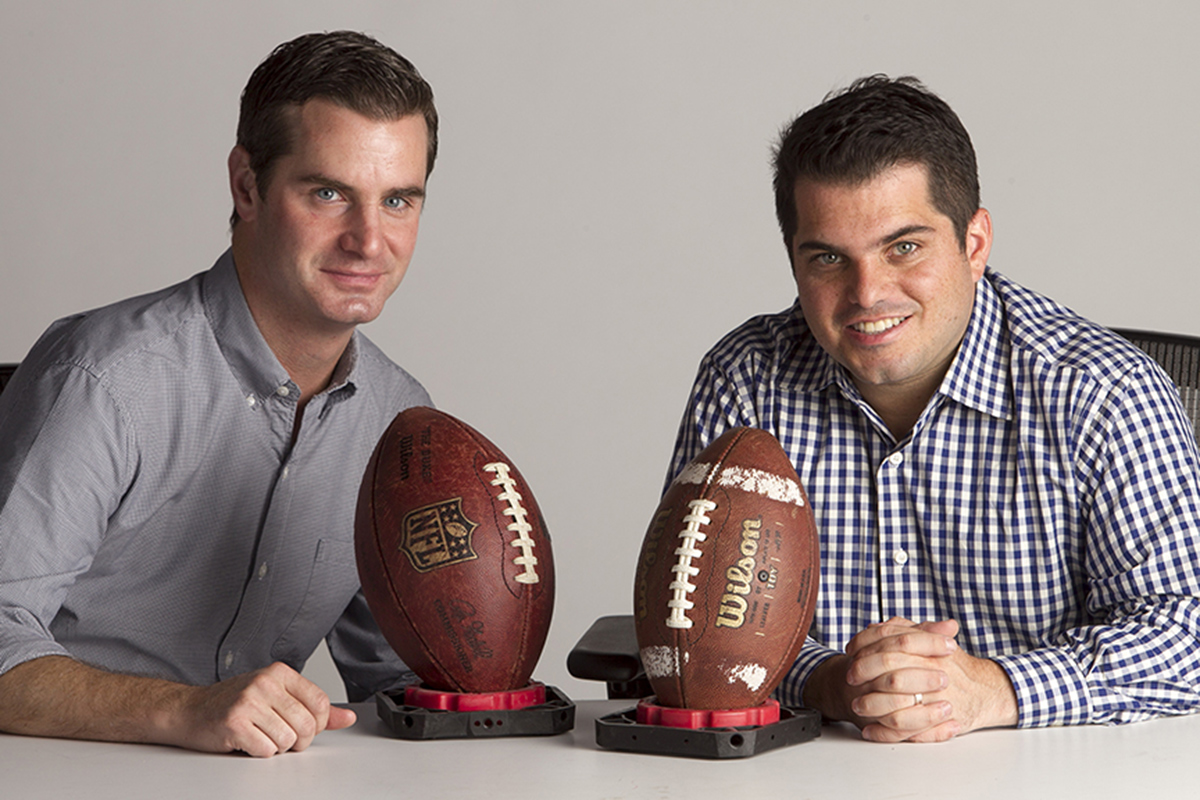 Jeff McLane (left) and Zach Berman, hosts of the Birds´ Eye View podcast on Philly.com.