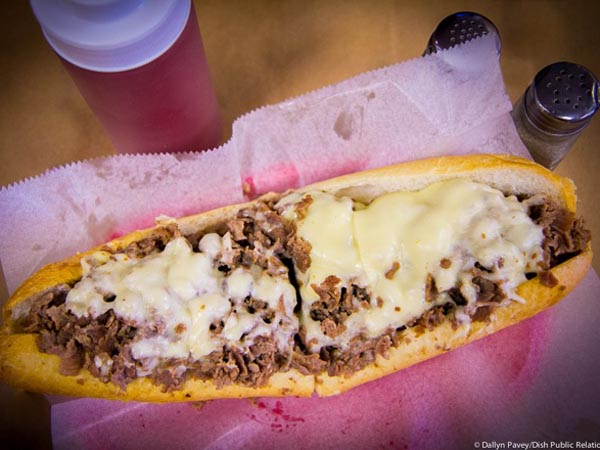 Cheesesteak from Pudge´s.