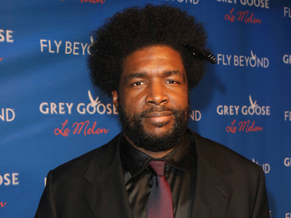 Questlove attends the official launch of GREY GOOSE Le Melon hosted by GREY GOOSE Vodka at The New York Public Library.