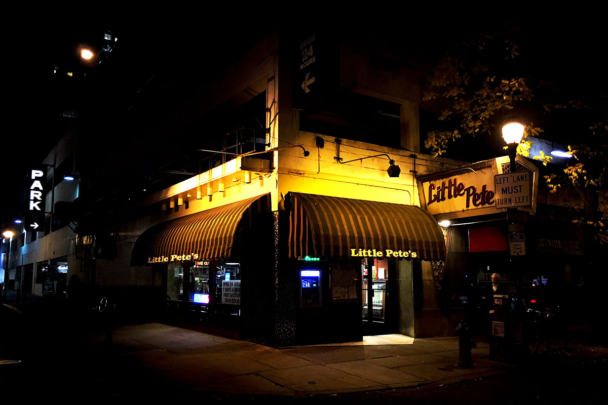 Little Pete´s opened in 1978 at 17th and Chancellor Streets.