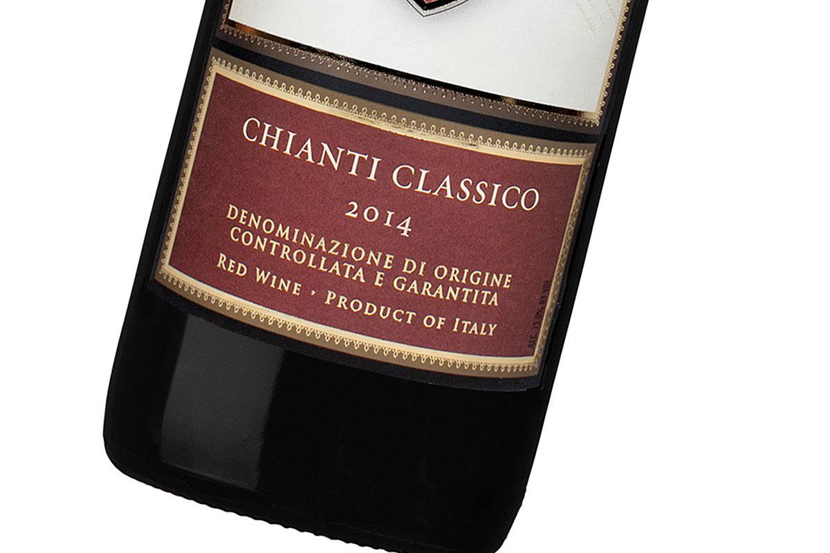 Chianti Classico, 2014, from Gabbiano in Italy