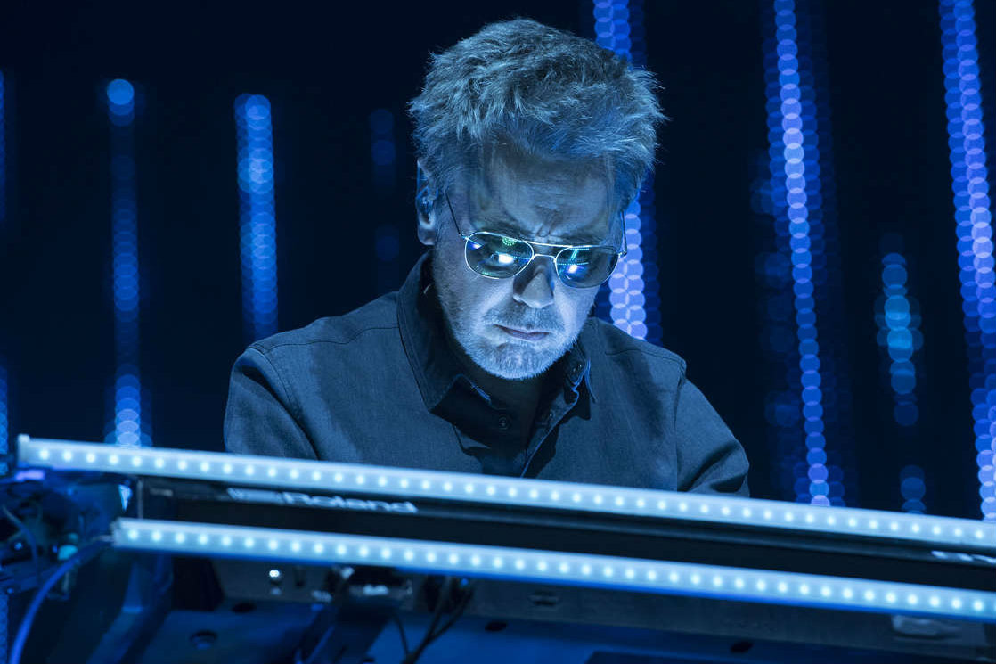 Jean-Michel Jarre, a French composer, performer, and record producer, will play at the Tower Theater on May 18.
