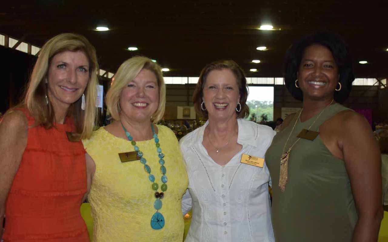 Board members, Lisa Schiel, Michelle Venema, executive director, Nancy Mc Lelland and Lisa Mitchell.<br />
