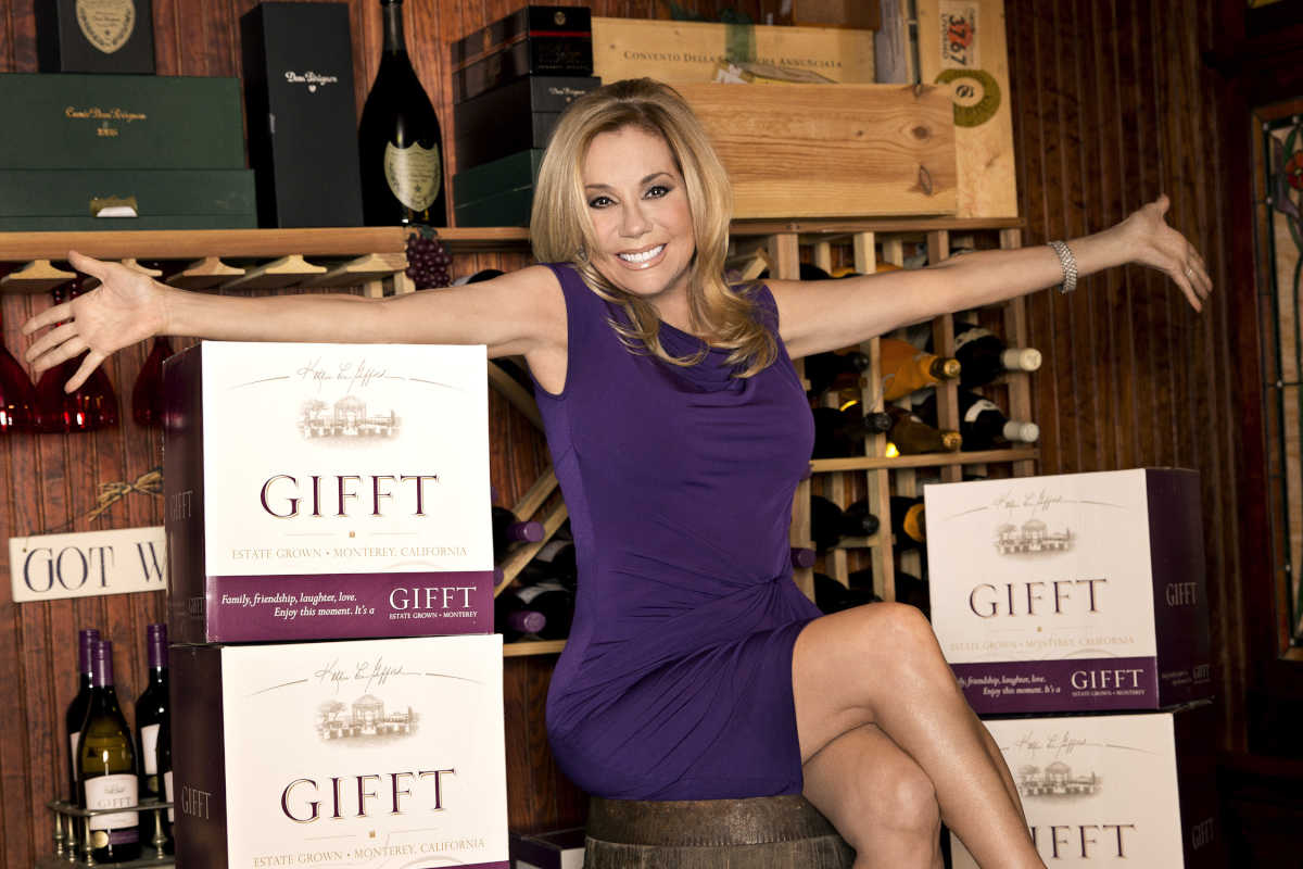Kathie Lee Gifford presents GIFFT Wines at the International Winefest at the Golden Nugget in Atlantic City, 8/26. credit: GIFFT Wines