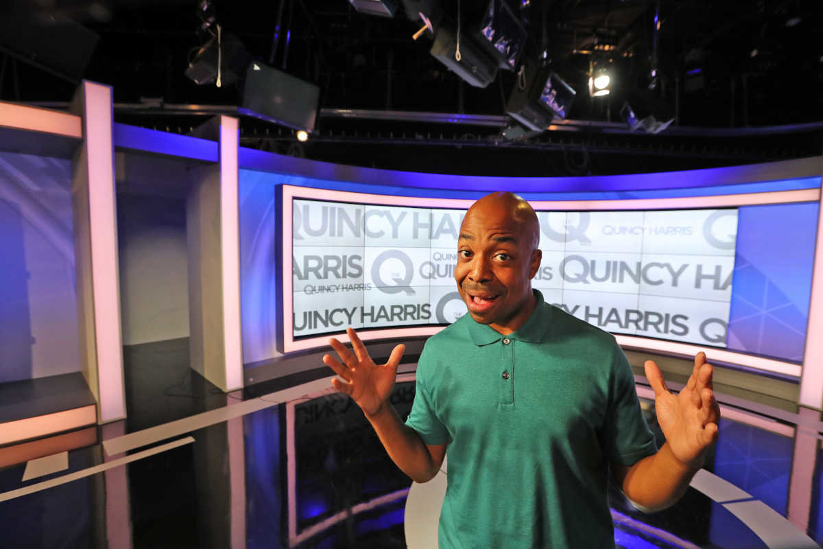 Quincy Harris, host of ´The Q´ on Fox 29.