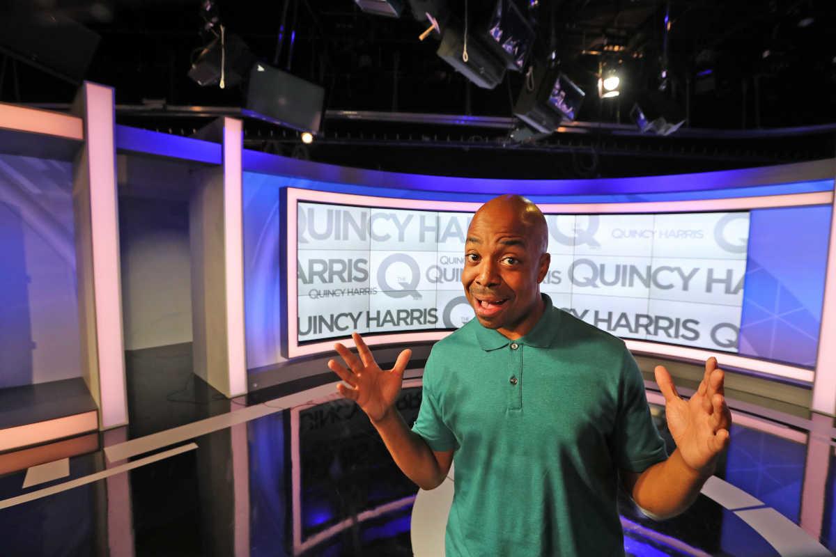Quincy Harris, host of ´The Q´ on Fox 29.