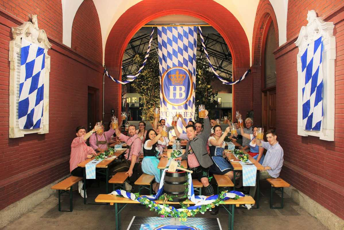 Brauhaus Schmitz will celebrate Oktoberfest with a blow out celebration the 23rd Street Armory